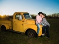 Vintage Truck Couples Photography