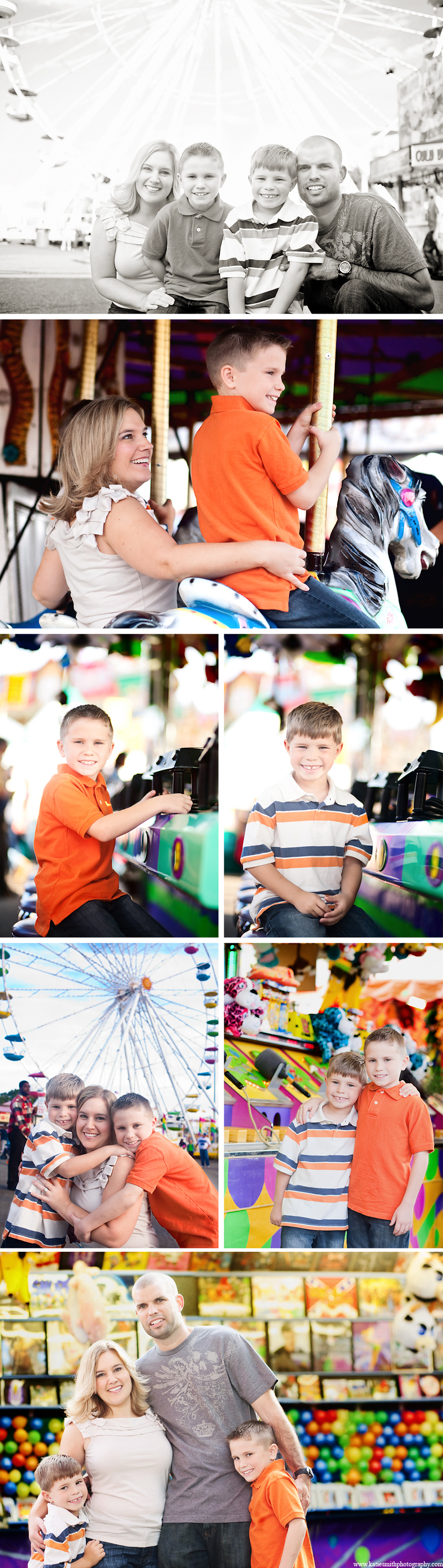 At the Fair- Kernersville Family Photographer