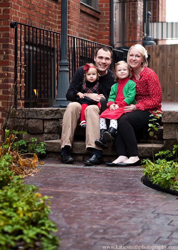 Christmas Card Perfect: Kernersville Family Photographer