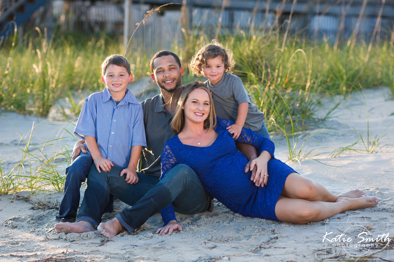Beach Maternity Portraits