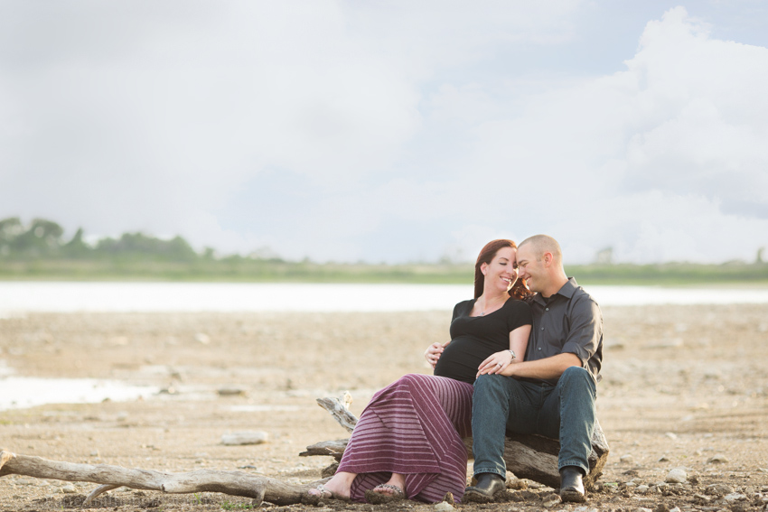 Maternity Couples Portraits in Belton