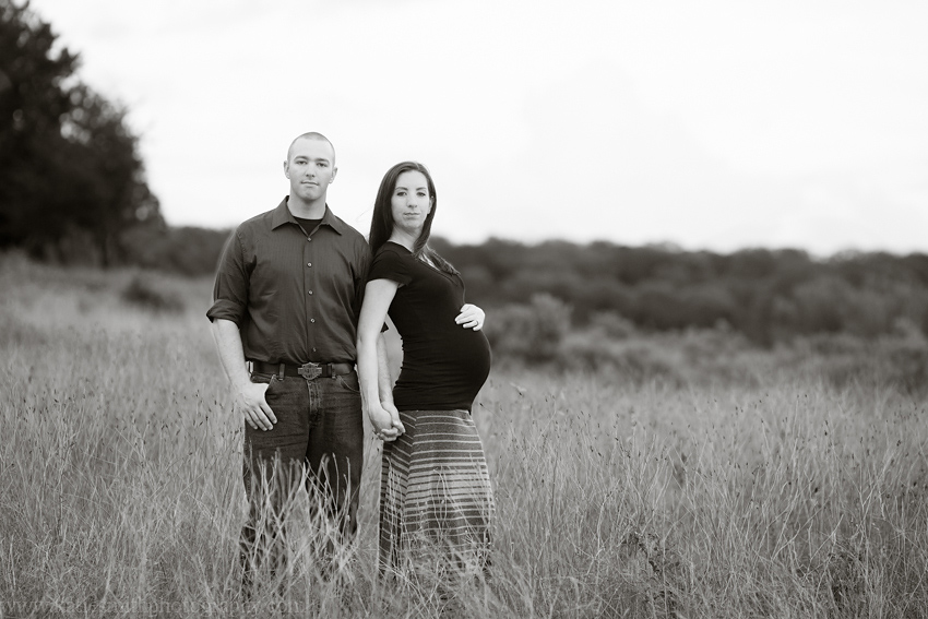 Black and White Maternity