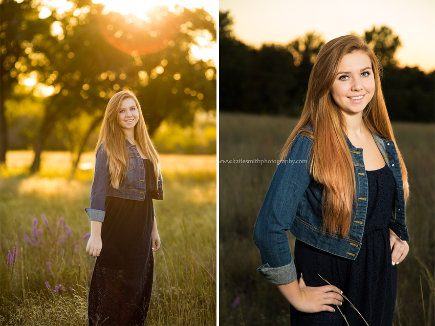 Fun senior portraits