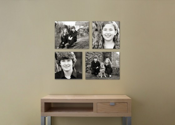 Mebane Family Photographer offers Wall Galleries