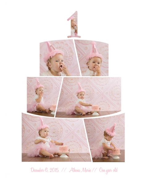 Cake Smash Photography in Pittsboro