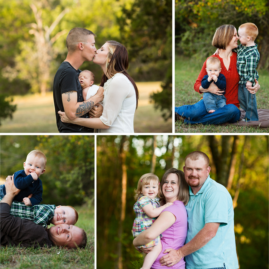 Family Portraits with toddlers in Mebane NC