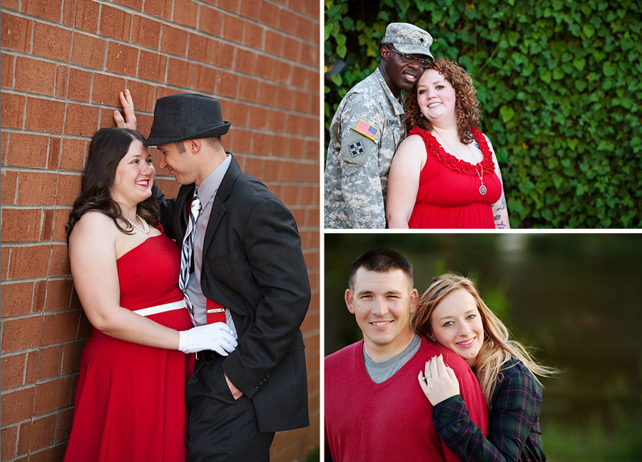 Newly Engaged Couple Portraits in Mebane North Carolina