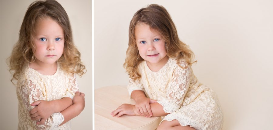preschooler posed portraits