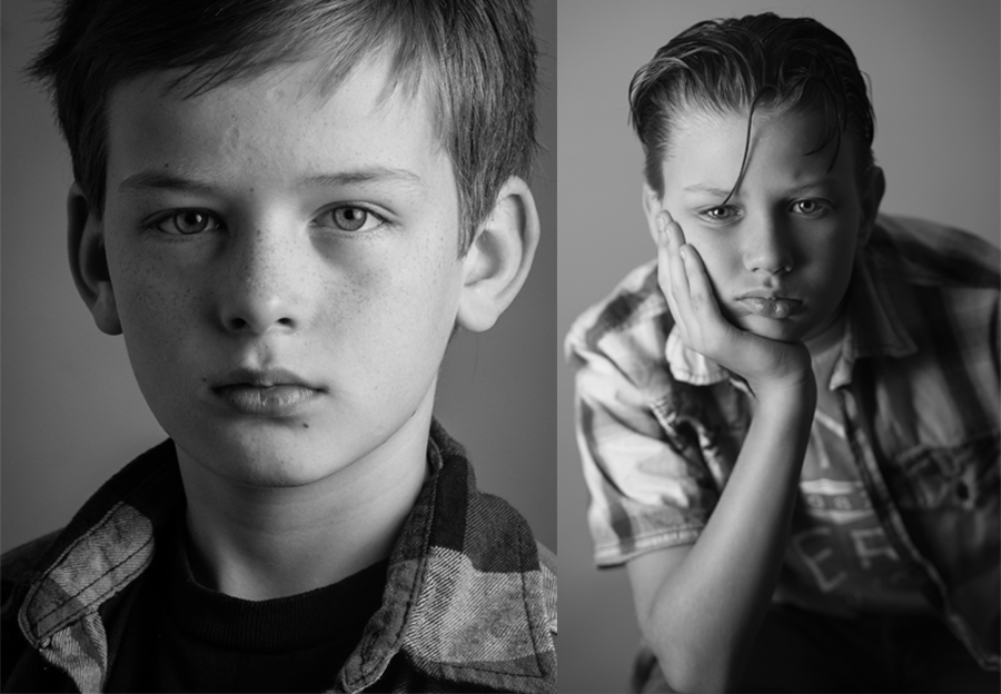 preteen boy portraits