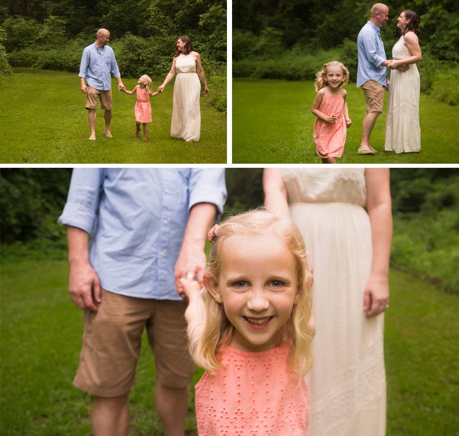 Family Portraits at Cedarock Park