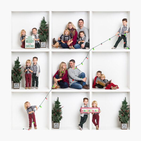 Christmas Portraits near Burlington NC