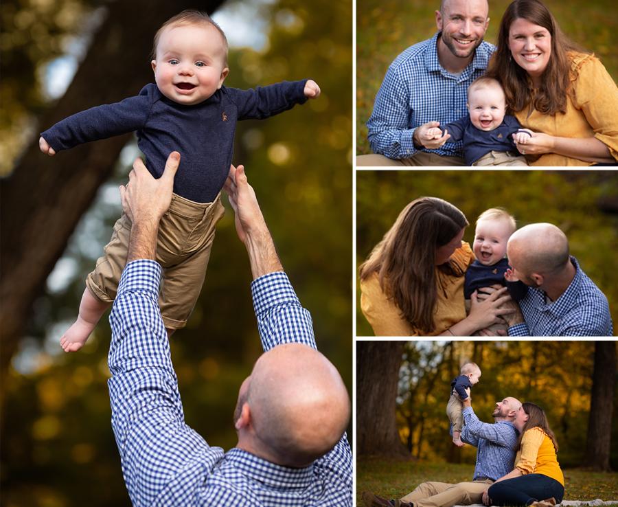 Cedarock Park Fall Family Portrait