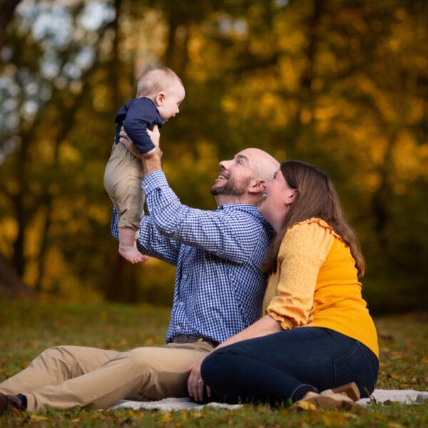 Fall Portraits: Burlington Family Photographer
